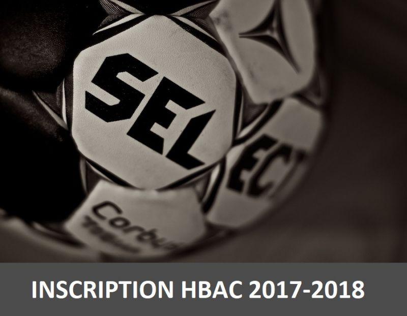 Let's go inscription hbac 2017-2018 !